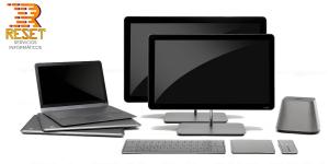 Mantenimiento informático con logo