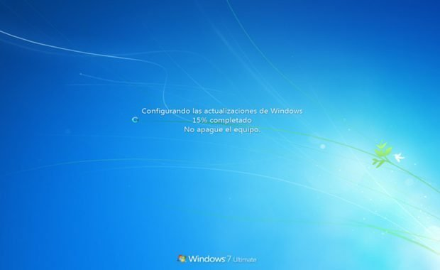 windows 7 actualizando
