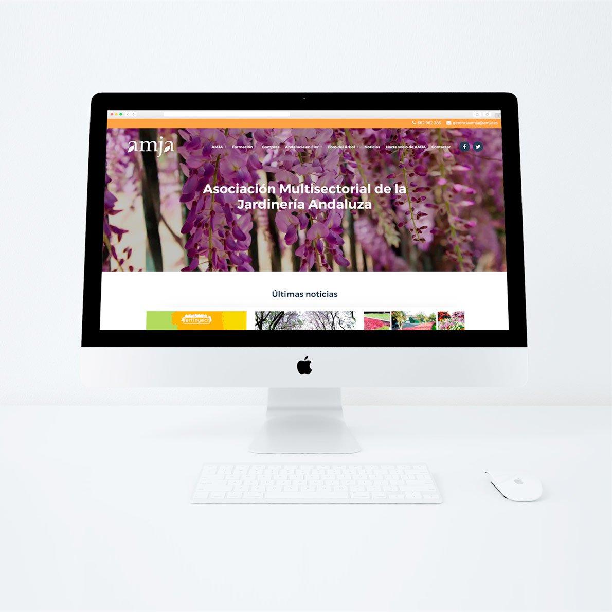 Creación de página web para AMJA